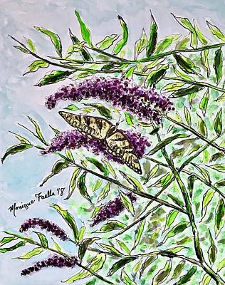 Painting - Butterfly Bush by Monique Faella