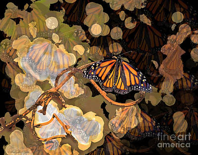 Photograph - Butterfly Creative Art by Luana K Perez