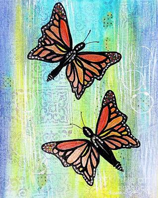Painting - Butterfly Dance by Desiree Paquette