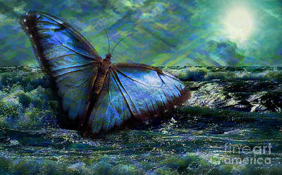 Digital Art - Butterfly Dreams 2015 by Kathryn Strick