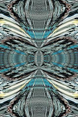 Digital Art - Butterfly Effect Abstract  by Sheila Mcdonald