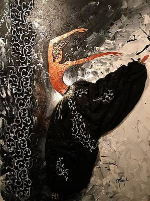 Harem Mixed Media - Butterfly Effect by Mireya Schoo