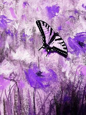 Mixed Media - Butterfly Experiment No2 by Kara Evelyn-McNeil