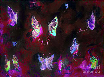 Digital Art - Butterfly Expose  by Lisa Kaiser