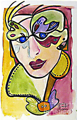 Painting - Butterfly Eyes by Marilyn Brooks