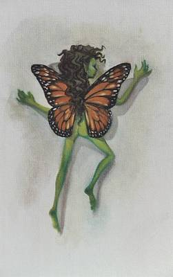 Painting - Butterfly Fairy by Suzn Art Memorial