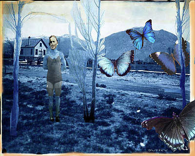 Digital Art - Butterfly Firing Squad by Doug Duffey