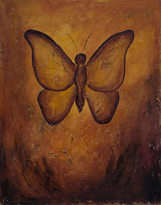 Painting - Butterfly Freedom by Jocelyn Friis