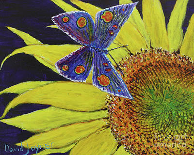 Painting - Butterfly Haven by David Joyner