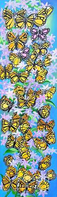 Painting - Butterfly Paradise by Karen Jane Jones