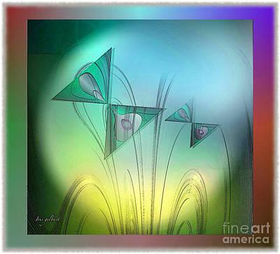Digital Art - Butterfly Heaven by Iris Gelbart
