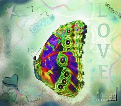 Butterfly In Green Original