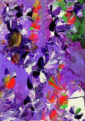 Butterfly Island Treasures Art Print