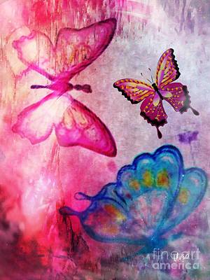 Digital Art - Butterfly Jam by Maria Urso