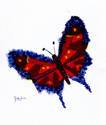 Painting - Butterfly by Julia Stubbe