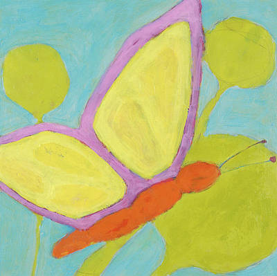 Butterfly Art Print by Laurie Breen