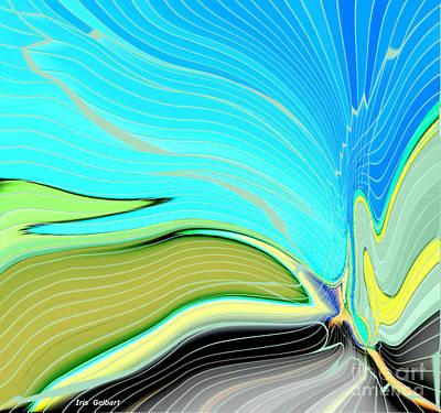 Digital Art - Butterfly Magic by Iris Gelbart