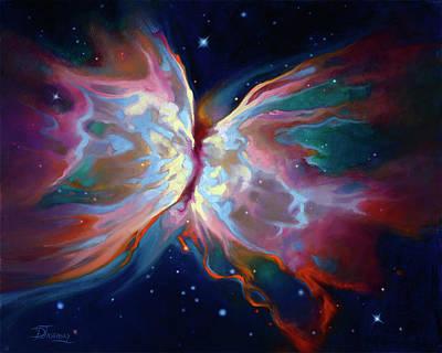 Butterfly Nebula Art Print
