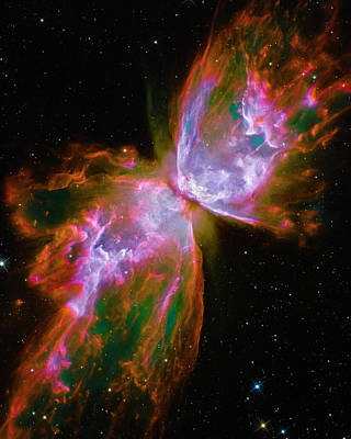 Photograph - Butterfly Nebula by Paul W Faust - Impressions of Light