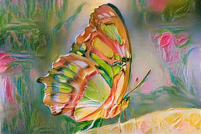 Digital Art - Butterfly Of Paradise 2 by Yury Malkov