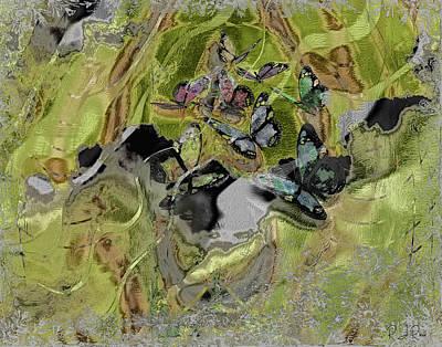 Digital Art - Butterfly by Richard Ricci