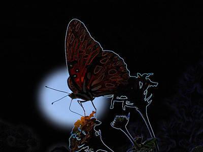 Butterfly Art Print by Rick McKinney