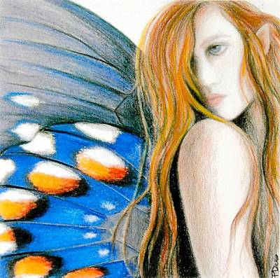 Painting - Butterfly Rush Take1 by Patricia Ann Dees