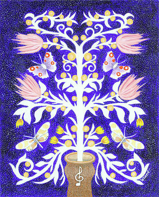 Painting - Butterfly Sonata by Lise Winne