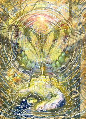 Gaia Mixed Media - Butterfly Spirit Lifts Me Up by Michael Richardson