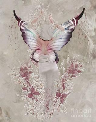 Digital Art - Butterfly Subtle by Ali Oppy
