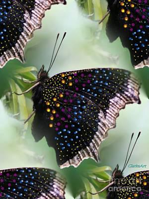 Butterfly Sunbath #2 Art Print