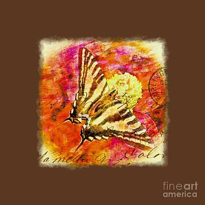 Photograph - Butterfly T - Shirt Print by Debbie Portwood