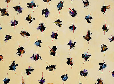 Davidjonesgallery.com Painting - Butterfly Ties by Dave Jones