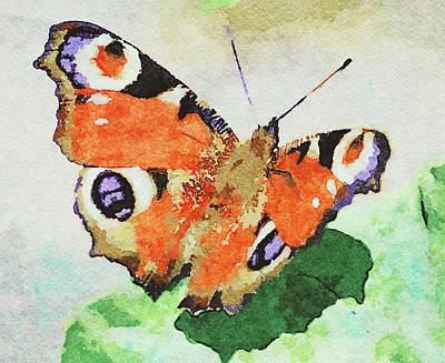 Digital Art - Butterfly Watercolors by Yury Malkov