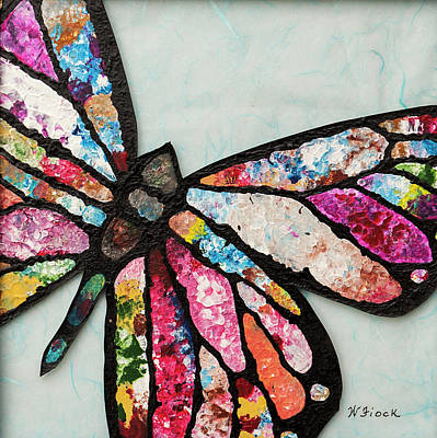 Wall Art - Painting - Butterfly by Wendell Fiock