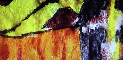 Mixed Media - Butterfly Wing by Don Koester