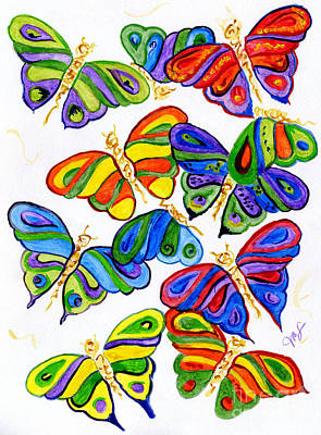 Painting - Butterfly Wings by Julia Stubbe