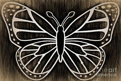 Butterfly Wisdom Art Print