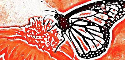 Digital Art - Butterfly by Yshua The Painter