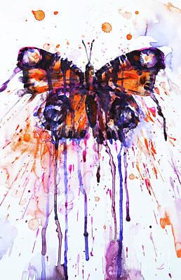 Painting - Butterfly by Zaira Dzhaubaeva