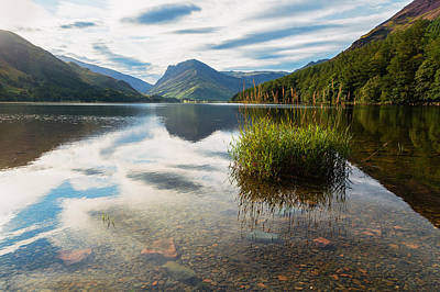 Photograph - Buttermere Dawn by Stuart Gennery