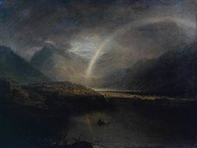 Cumberland River Painting - Buttermere Lake by Joseph Mallord