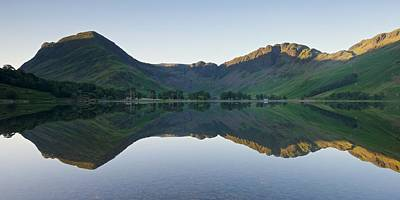 Photograph - Buttermere Reflections by Stephen Taylor