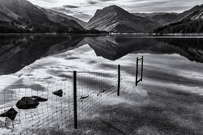 Photograph - Buttermere Reflections by Stuart Gennery