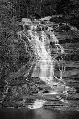 Buttermilk Falls Photograph - Buttermilk Falls #2 by Stephen Stookey