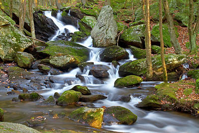 Photograph - Buttermilk Falls Cascade by David Freuthal