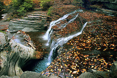 Photograph - Buttermilk Falls Creek by Jessica Jenney