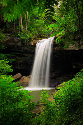 Photograph - Buttermilk Falls by Emmanuel Panagiotakis