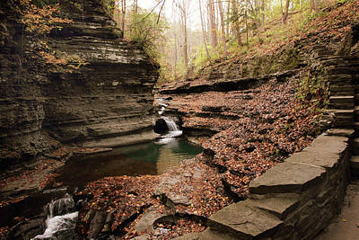 Buttermilk Falls Art Print by Jessica Jenney