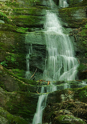 Buttermilk Falls Art Print by Louise Reeves